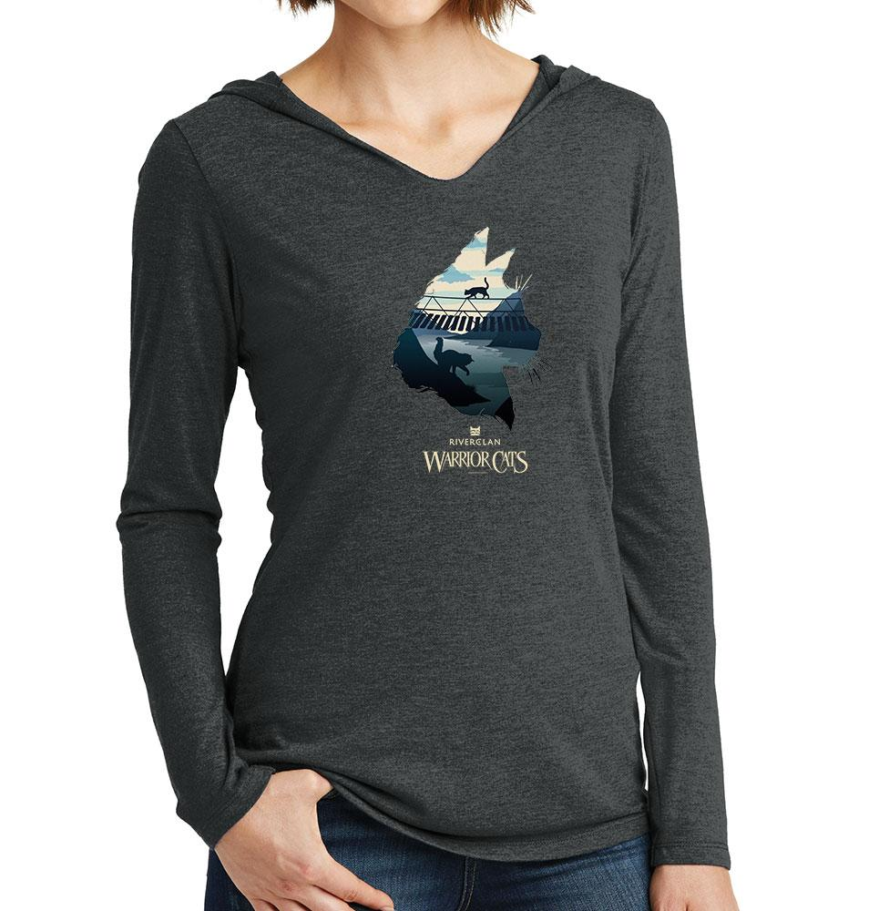 Epic RiverClan -Women's Hooded Long Sleeve T-Shirt