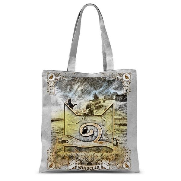 WindClan Etching Tote Bag