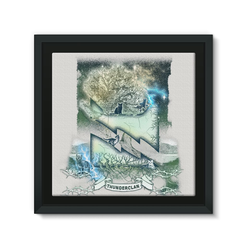 THUNDERCLAN Etching Framed Eco-Canvas