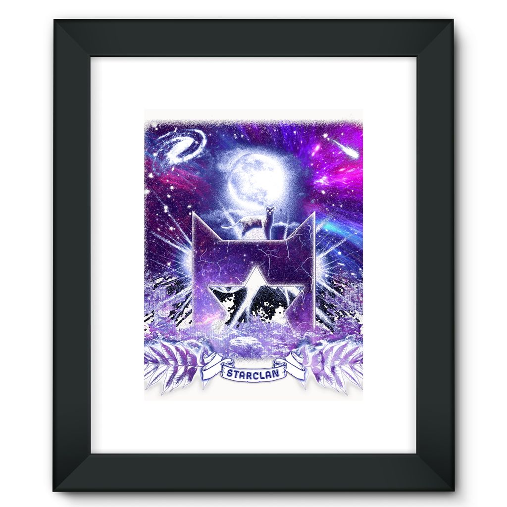 StarClan Etching Framed Fine Art Print