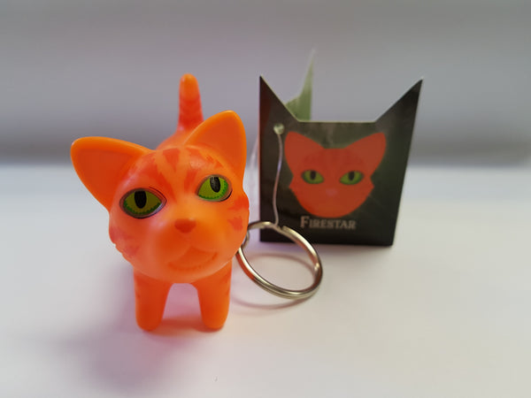 Key Ring  - Thunder Clan's FireStar