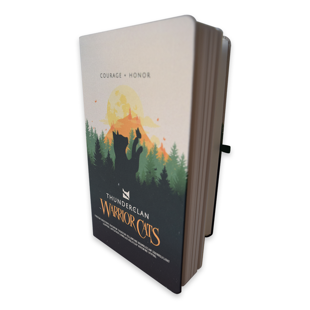ThunderClan Warrior Cats A5 notebook