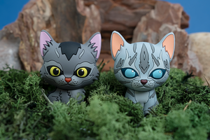 Graystripe & Jayfeather - Mini Collector Figures