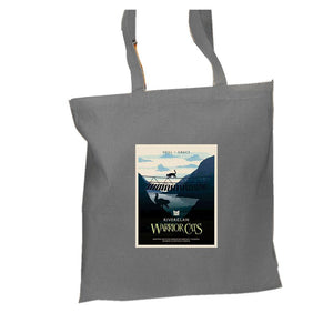 RiverClan Epic Portrait Tote  - Grey