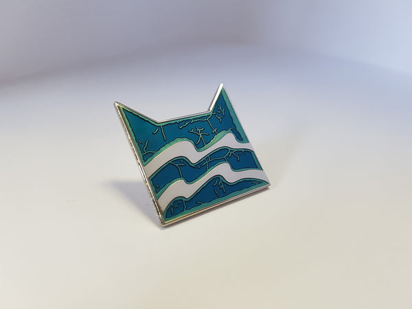 Collector's RiverClan Pin Badge