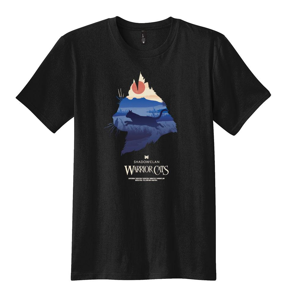 SHADOWCLAN EPIC MEN'S TEE  - BLACK