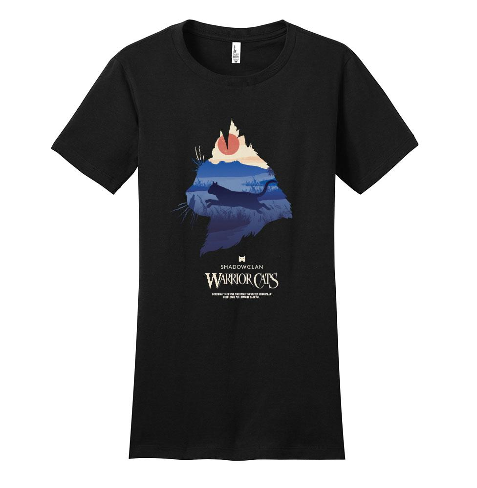 SHADOWCLAN EPIC WOMEN'S TEE  - BLACK