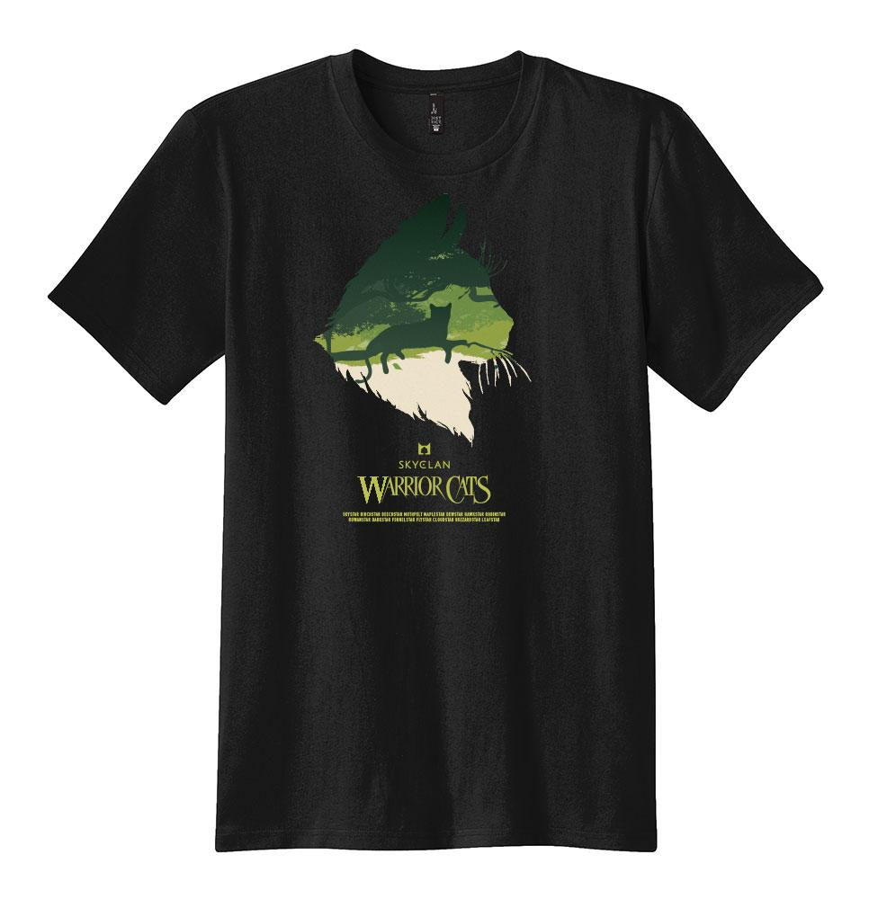 SKYCLAN EPIC MEN'S TEE  - BLACK