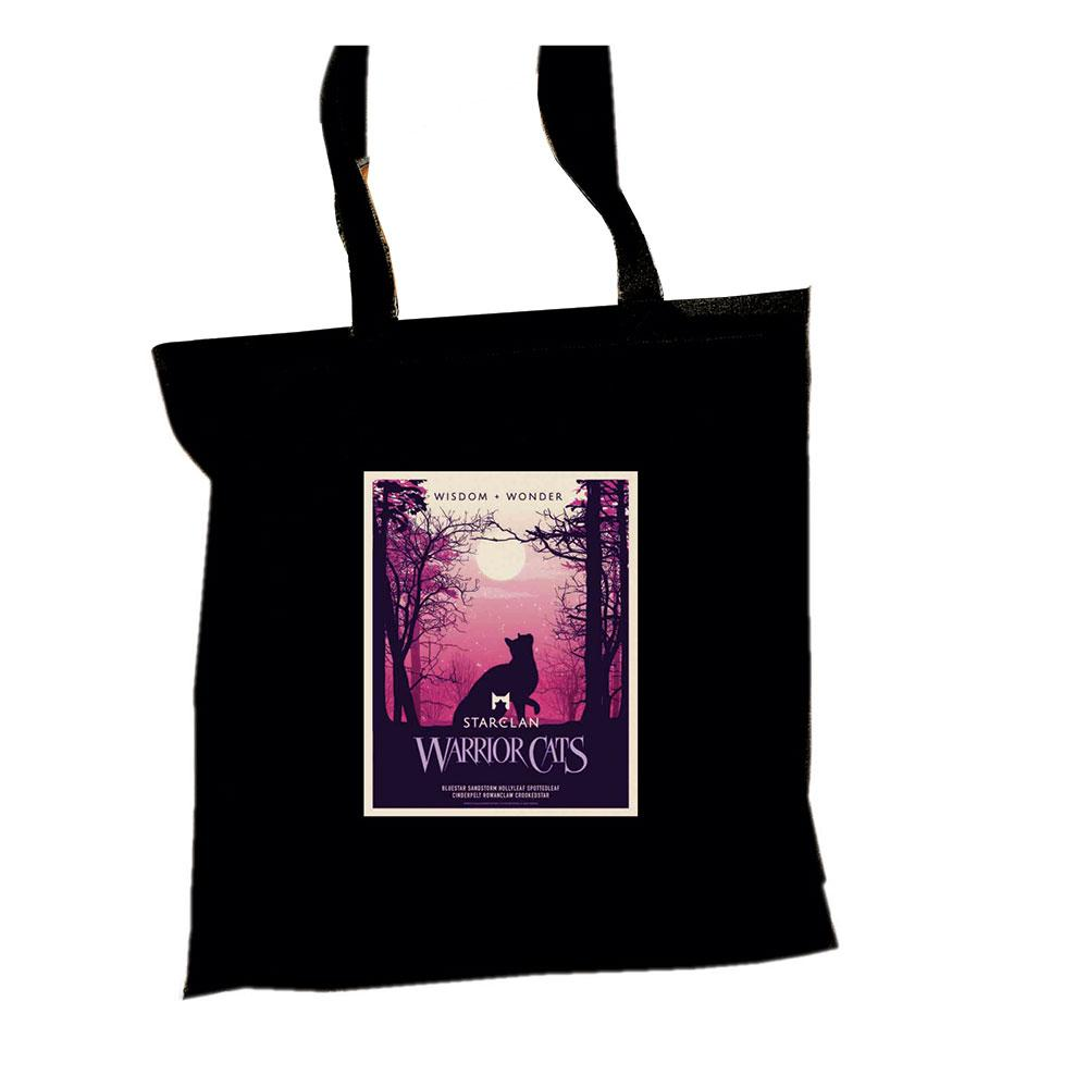StarClan Epic Portrait Tote  - Black