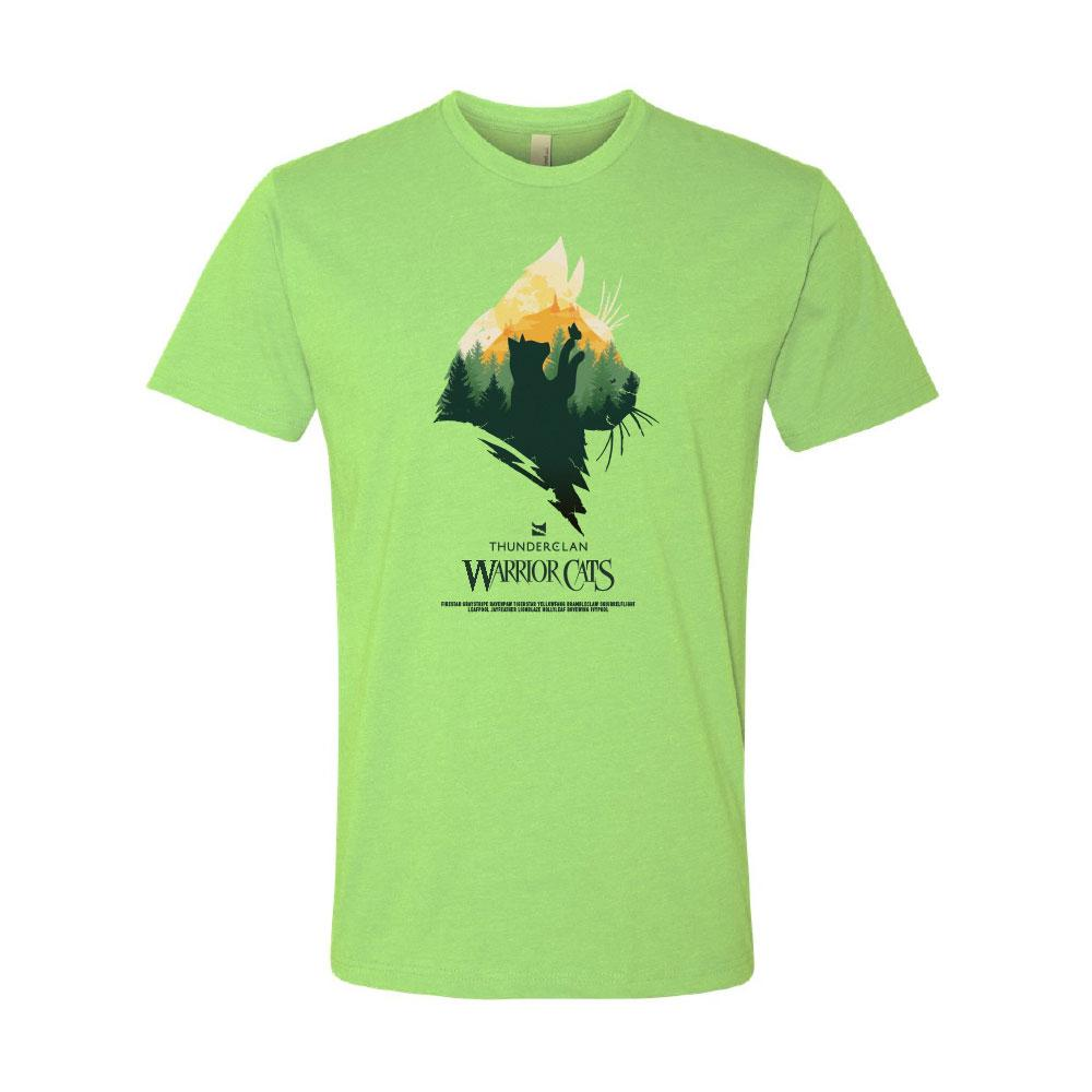 THUNDERCLAN EPIC MEN'S TEE GREENAPPLE