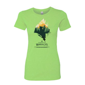 THUNDERCLAN EPIC WOMEN'S TEE GREENAPPLE