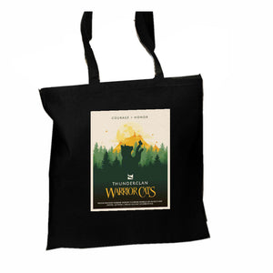 ThunderClan Epic Portrait Tote - Black