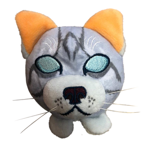 Jayfeather - Mini Plush Head - NOW IN STOCK