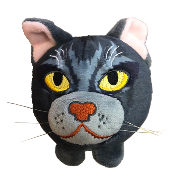 Graystripe - Mini Plush Head - NOW IN STOCK