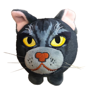 Mini Plush Head Bundle - Jayfeather / Graystripe / Mistystar - Pre-Order
