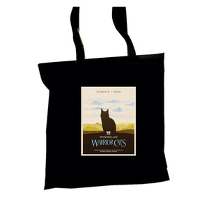 WindClan Epic Portrait Tote  - Black