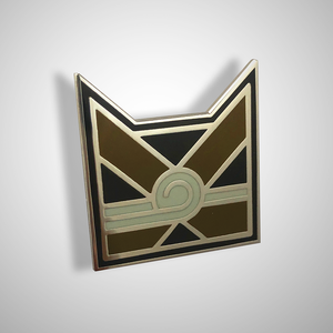 Art Deco WindClan Pin Badge - IN STOCK NOW