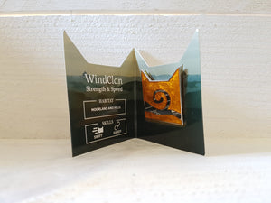 Collector's WindClan Pin Badge