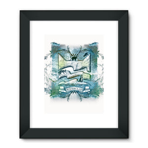 RiverClan Etching Framed Fine Art Print