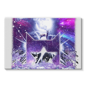 StarClan Etching Stretched Eco-Canvas