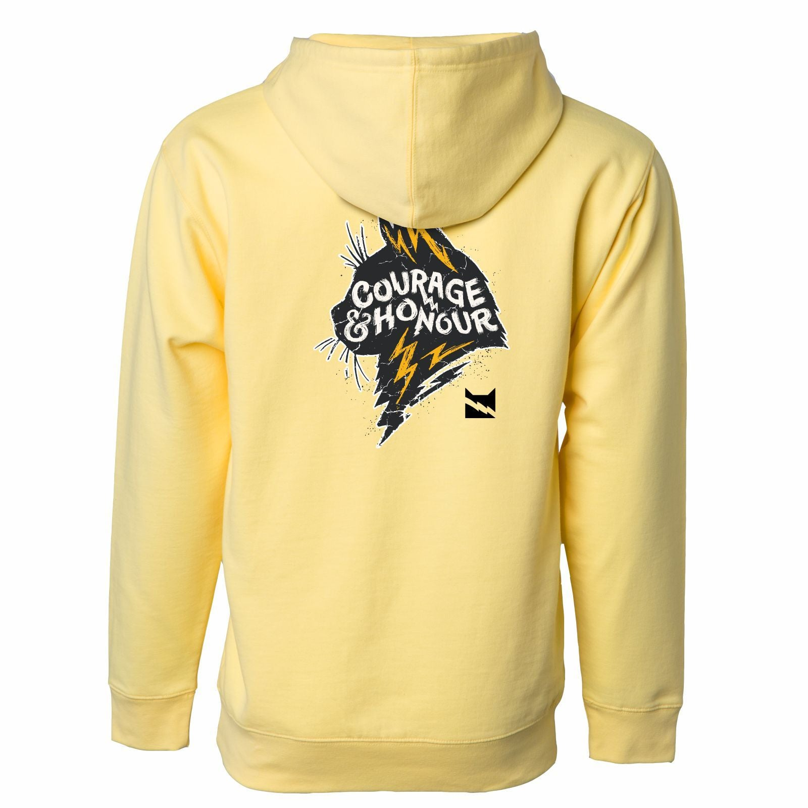 WARRIORCATS: THUNDERCLAN Adult Fleece Hoody - Light Yellow