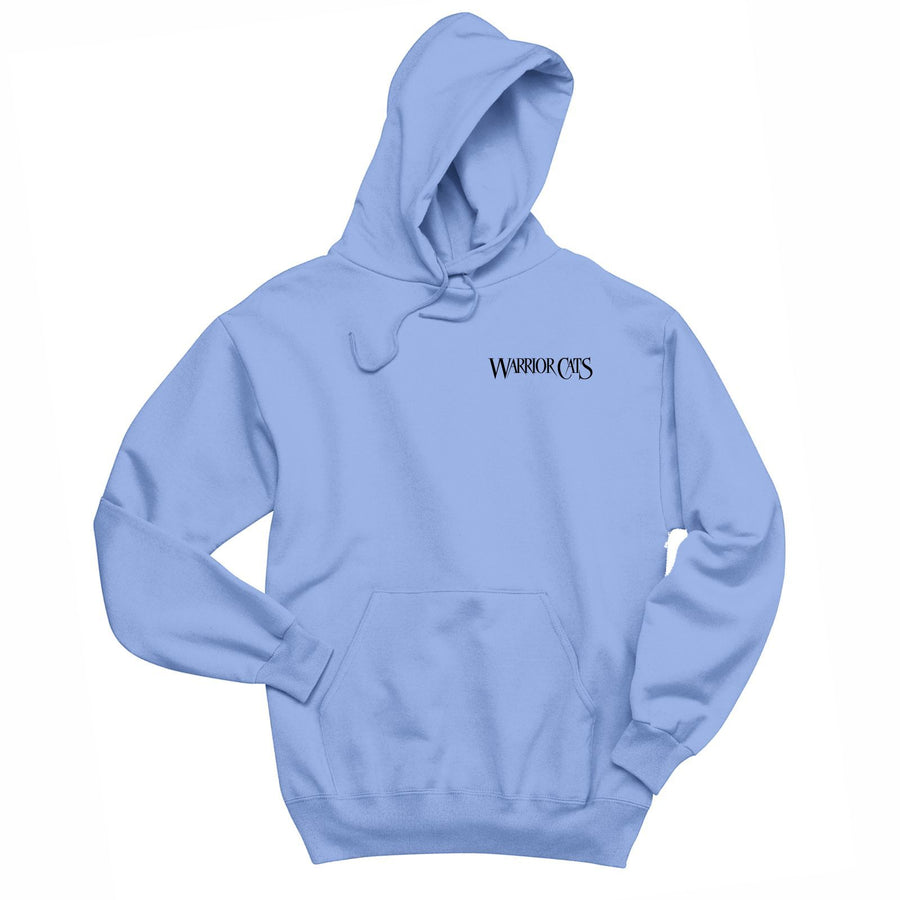 WARRIORCATS: WINDCLAN Adult Fleece Hoody - Light Blue