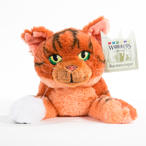 Squirrelflight Large Plush Cat
