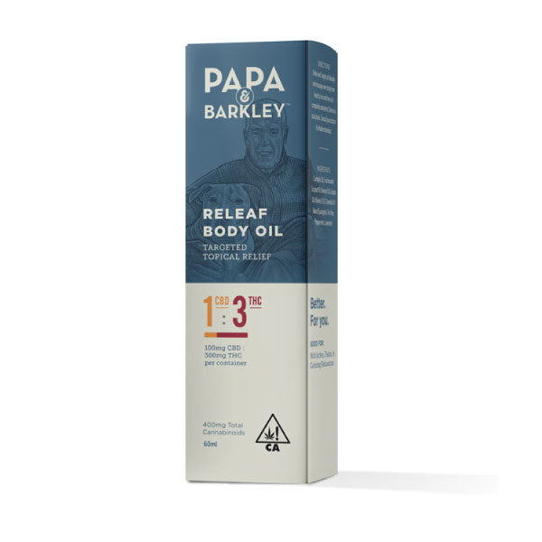 Papa & Barkley THC and CBD massage oil
