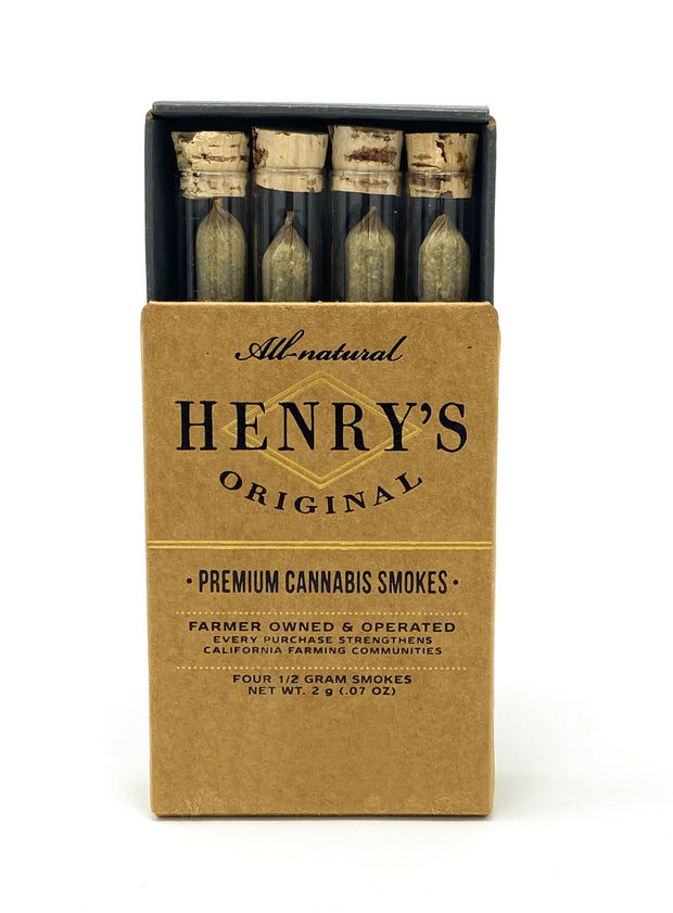 henry's original orange creamsicle  pre roll  4 pack buy cannabis petaluma