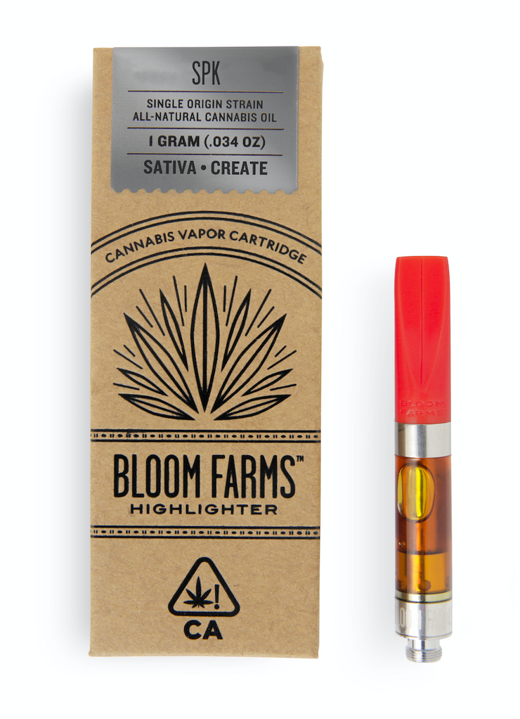 Bloom Farms SPK 1g Cartridge