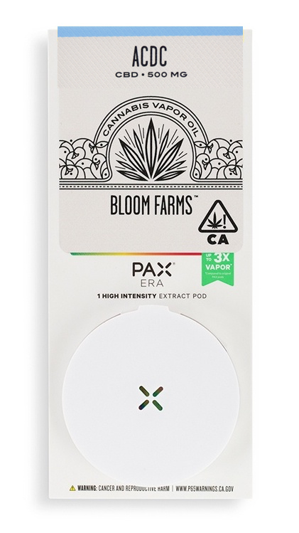 Bloom Farms ACDC CBD PAX Pod 3:1