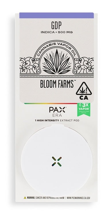 Bloom Farms Indica PAX Pod