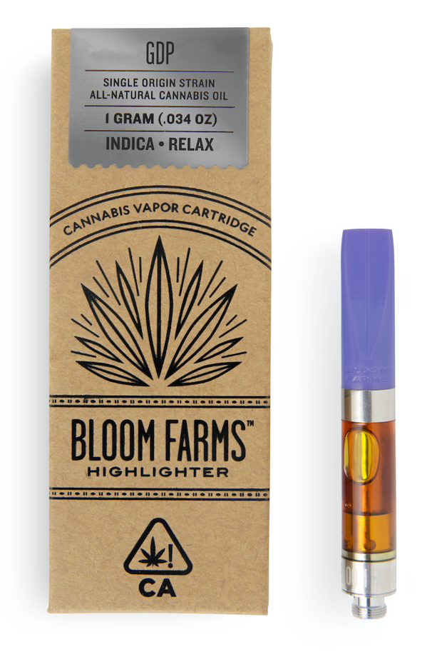 Bloom Farms GDP 1g Cartridge