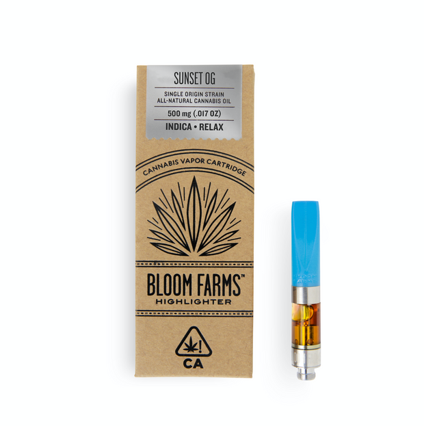Bloom Farms Sunset OG 0.5g Cartridge