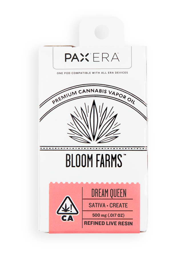 Bloom Farms Dream Queen Refined Live Resin PAX Pod 80% THC