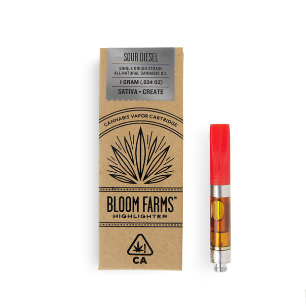 Bloom Farms Sour Diesel 1g Cartridge 84% THC