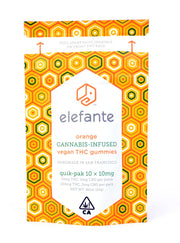 Elefante Orange vegan THC gummies