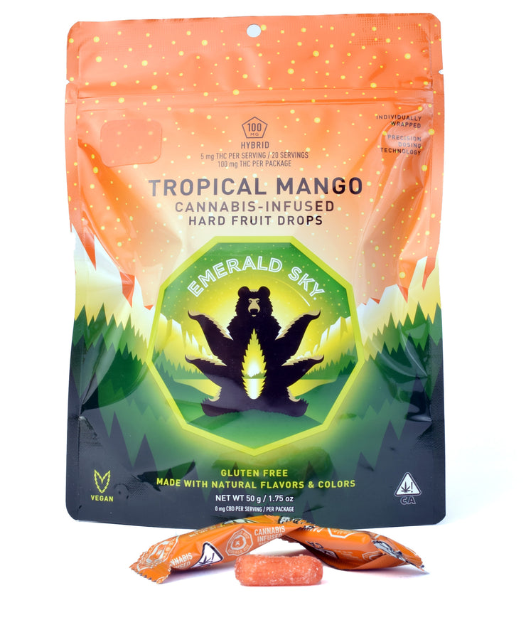 Emerald Sky Tropical Mango Hard Fruit Drop