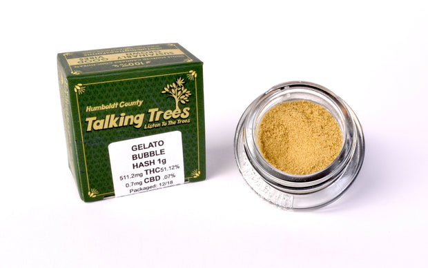 Talking Trees Farms Gelato Bubble Hash