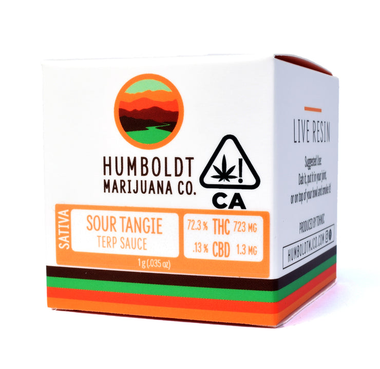 Humboldt Marijuana Co Sour Tangie Live Resin