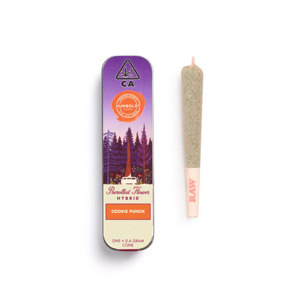 Humboldt Farms Cookie Punch pre-roll joint