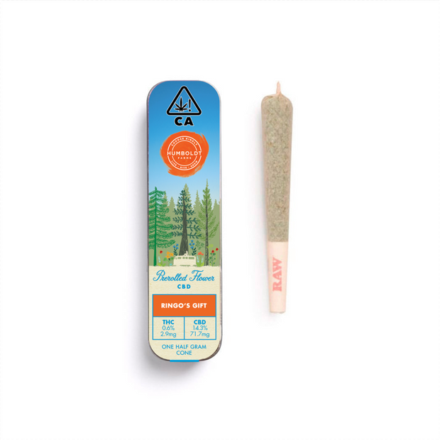 ACDC cannabis flower pre-rolled joint