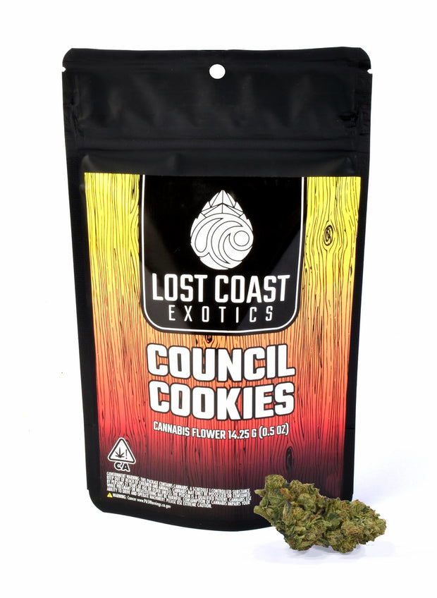 Lost Coast Exotics Council Cookies 14g 21.39% THC