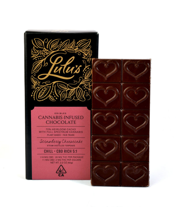 Lulu's Edibles Chill Cannabis-Infused Chocolate
