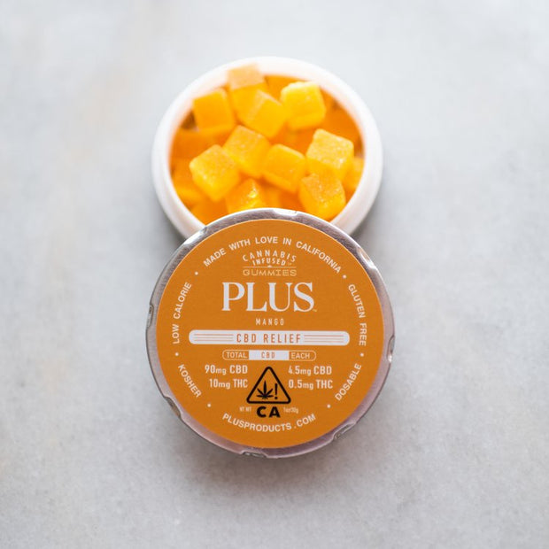 Plus Mango CBD Gummies Cannabis Sonoma