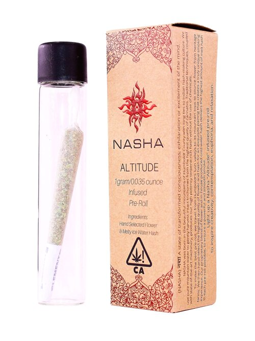 Nasha full melt hash infused pre-roll