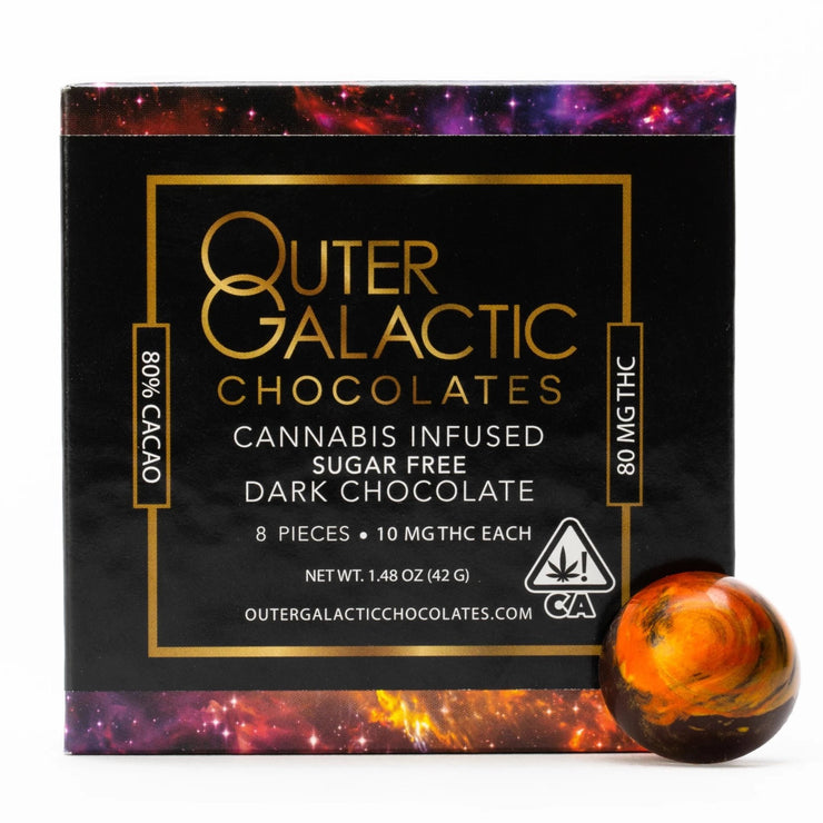 Sugar Free THC Chocolate Outer Galactic