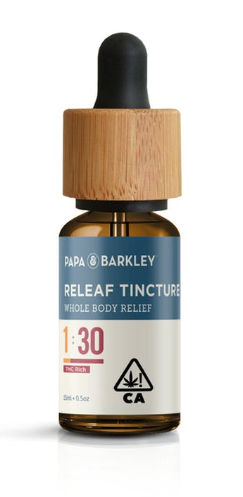 Papa and Barkley THC Tincture