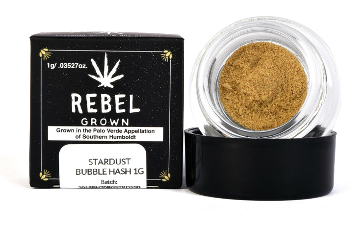 Rebel Grown Stardust Bubble Hash
