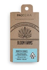 Bloom Farms Monster Cookies PAX Pod 89% THC